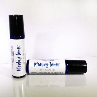 Aromatherapy for ADHD, Essential Oils for ADHD, Monkey Tamer Aromatherapy Rollerball for ADHD, Vetiver for ADHD